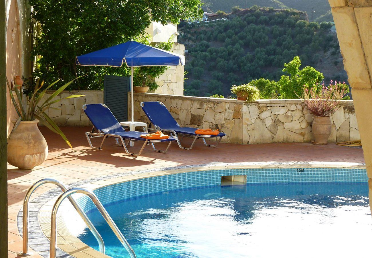 Villa in Stalos - Villa Panos
