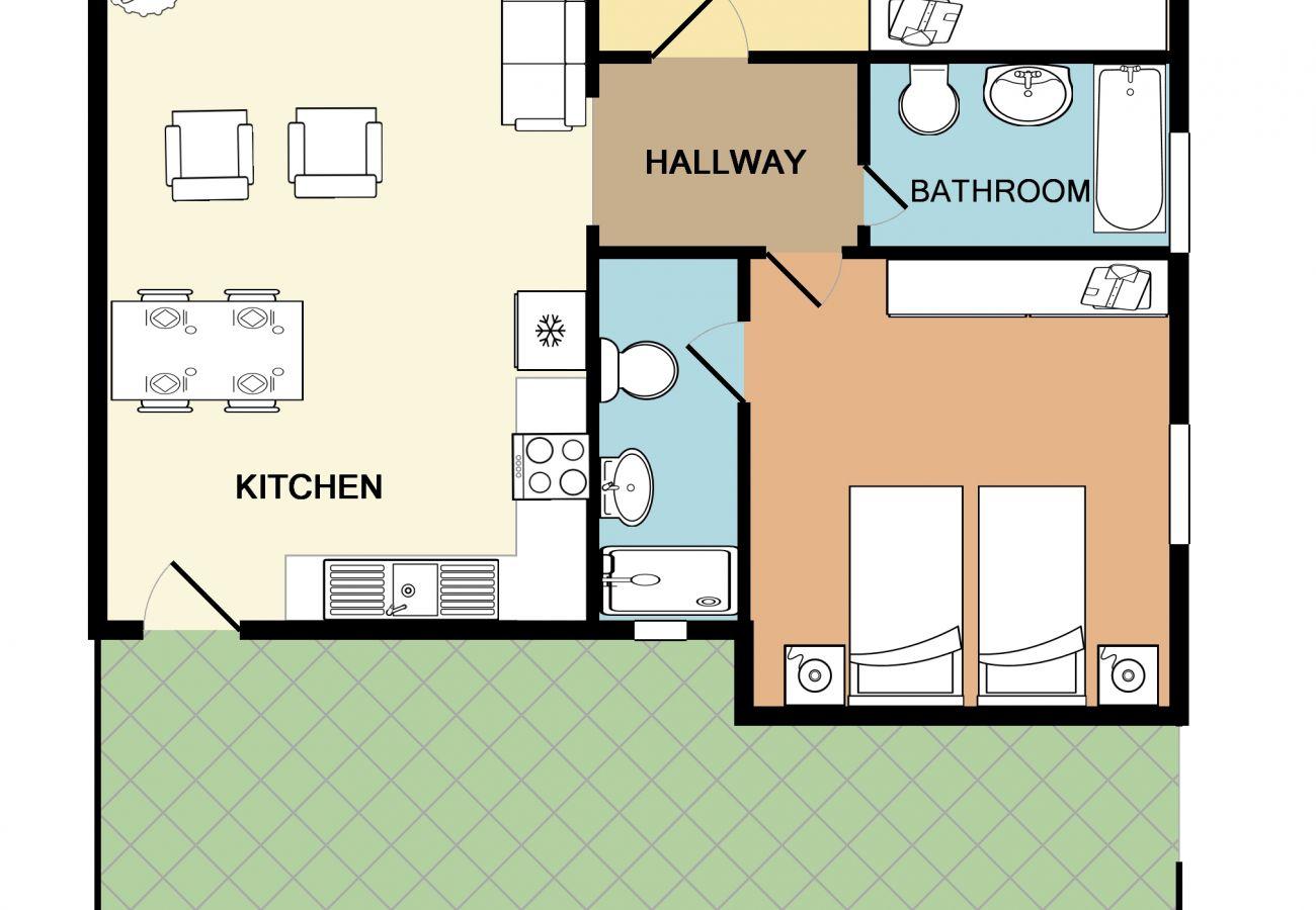 Apartment in Stalos - Rouladina Apt 5