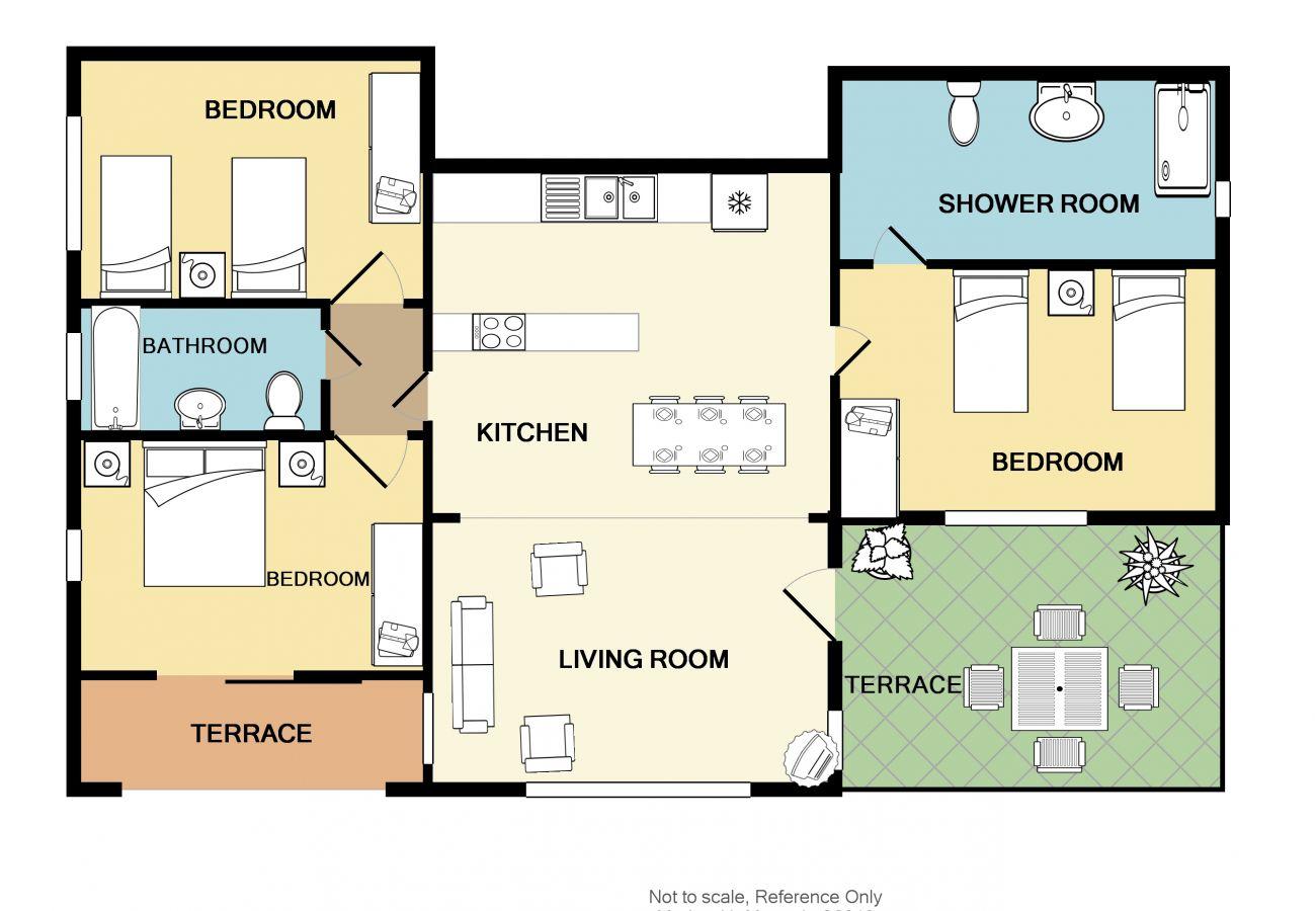 Apartment in Stalos - Rouladina Apt 4